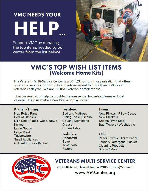 Donate Vmc Center